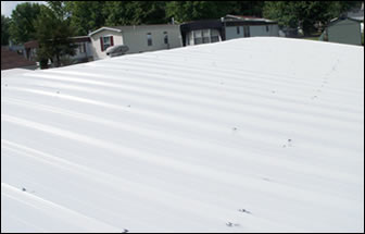mobile home metal roofover